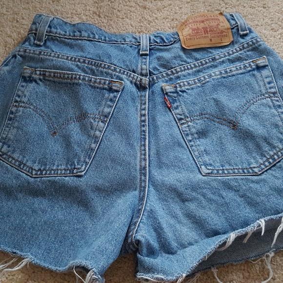 74465b11 Levi's Shorts   Vintage Levis Distressed Cutoff Jean 8   Poshmark